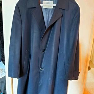 Aquascutum London blue coat